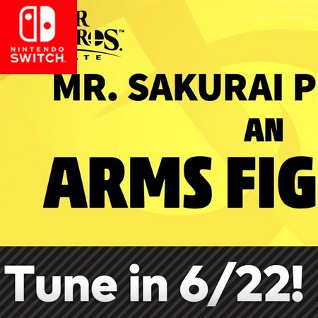 Super Smash Bros Ultimate - Anunciada apresentação do Sakurai do lutador de Arms no Fighter Pass #2