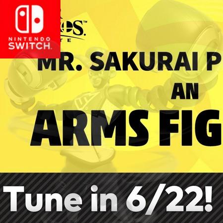 Super Smash Bros Ultimate - Assista a apresentação do Sakurai do lutador de Arms no Fighter Pass #2