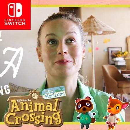 Animal Crossing New Horizons - Brie Larson faz gameplay em seu canal