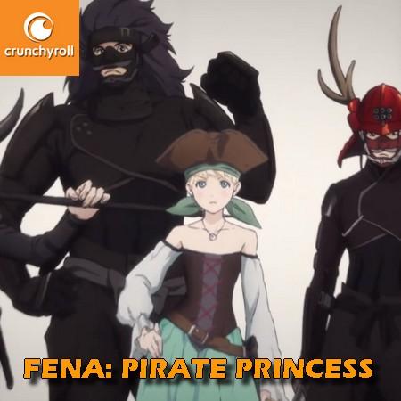 Fena - Pirate Princess - Trailer Oficial do Anime Crunchyroll Original