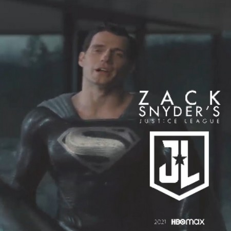 Liga da Justiça Snyder Cut - Clipe do Superman de Uniforme Negro da Justice Con
