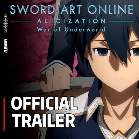 Sword Art Online - Alicization - War of Underworld - Trailer #3 da Parte 2 da Final Season