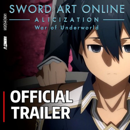 Sword Art Online - Alicization - War of Underworld - Trailer #3 da Parte 2 da Final Season