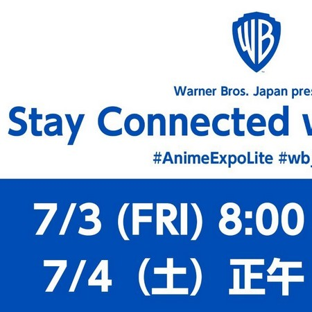 Warner Brothers Japan Virtual Panel - AnimeExpo Lite