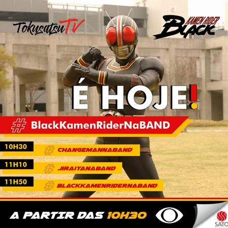 Black Kamen Rider estreia HOJE no Mundo Animado da Band