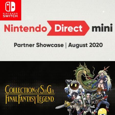 Nintendo Direct Mini Partner Showcase August 2020 - Assista evento digital da Nintendo completo