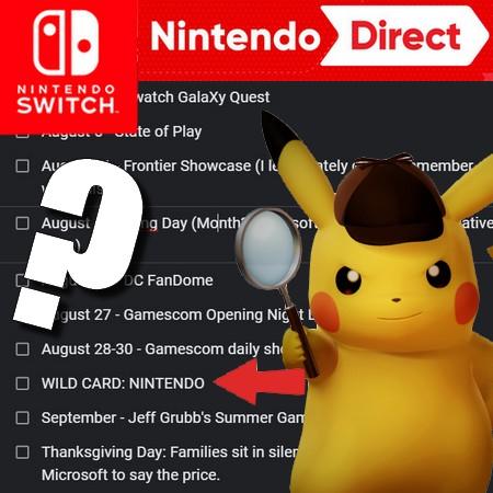Nintendo Direct - Novo evento digital pode acontecer entre os dia 11 e 22 de agosto de 2020