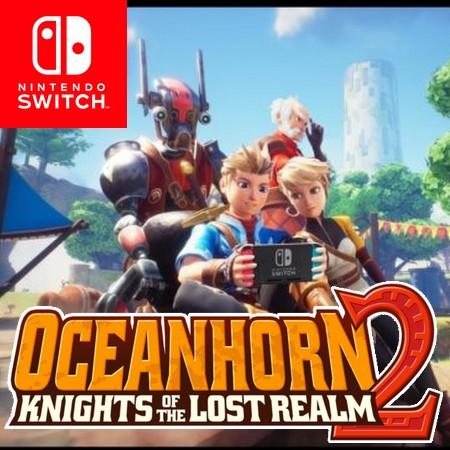 Oceanhorn 2 - Knights of the Lost Realm - Trailer de Anúncio da versão de Nintendo Switch