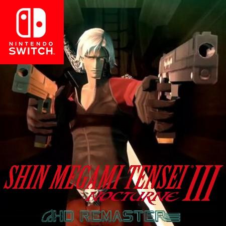Shin Megami Tensei III Nocturne HD Remaster - Trailer do DLC do Dante de Devil May Cry