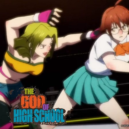 The God of the Highschool - Yoo Mira vs Mah Miseon no Episódio 3