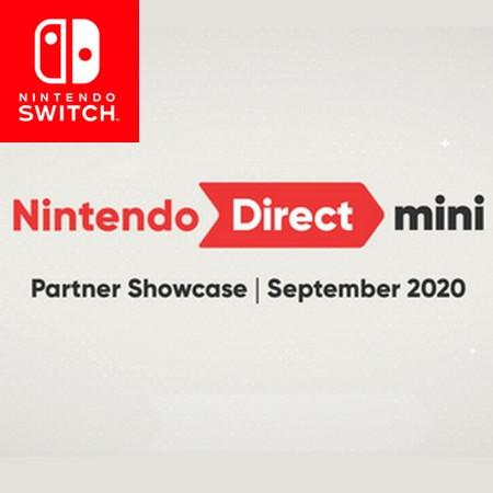 Nintendo Direct Mini Partner Showcase September 2020 - Anunciado evento digital da Nintendo