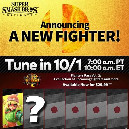 Super Smash Bros Ultimate - Anunciada live de apresentação do segundo lutador do Fighter Pass #2