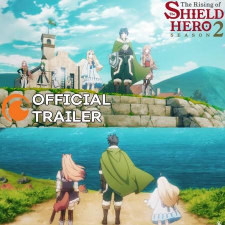 The Rising of the Shield Hero - Trailer Oficial da Season 2 do Anime