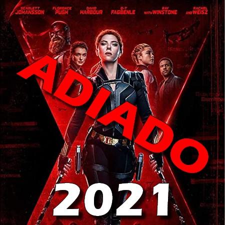 Viúva Negra - Filme é adiado para 2021