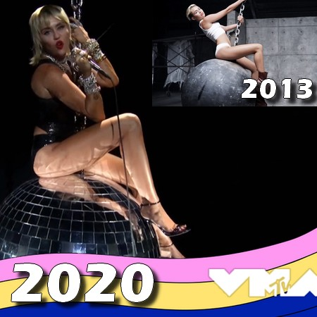VMA 2020 - Midnight Sky by Miley Cyrus - Retorno do Wrecking Ball