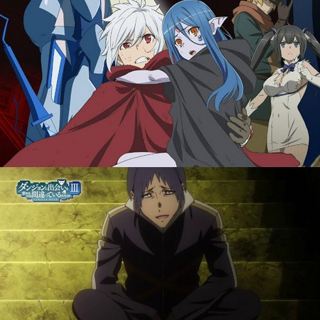 Danmachi III - Preview do Episódio 2 da Season 3