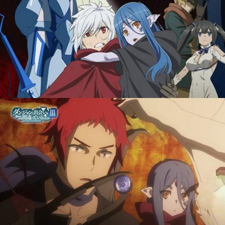 Danmachi III - Preview do Episódio 4 da Season 3