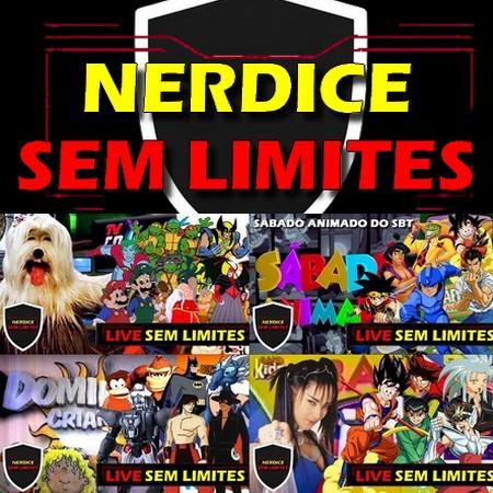 Nerdice Sem Limites - Clássicos Animados da TV - Fase 1
