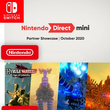 Nintendo Direct Mini Partner Showcase October 2020 - Assista o evento digital da Nintendo