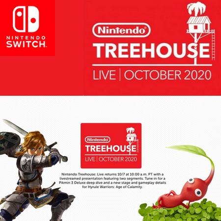 Nintendo Treehouse Outubro 2020 - Anunciado evento focado em Hyrule Warriors - Age of Calamity e Pikmin 3 Deluxe
