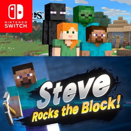 Super Smash Bros Ultimate - Steve e Alex de Minecraft são os lutadores DLC do Fighter Pass #2