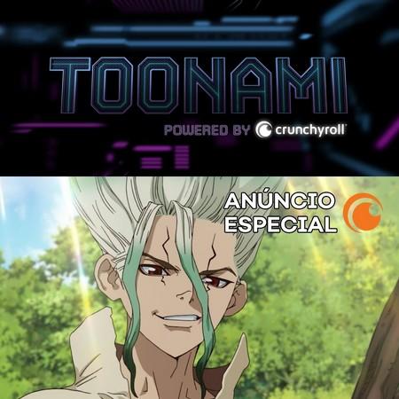 Dr. Stone - Trailer Oficial do Crunchyroll da estreia no Toonami Brasil
