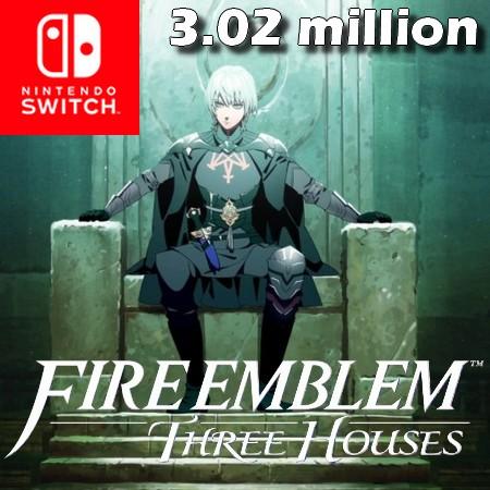 Fire Emblem - Three Houses ultrapassa 3,02 milhões de unidades vendidas