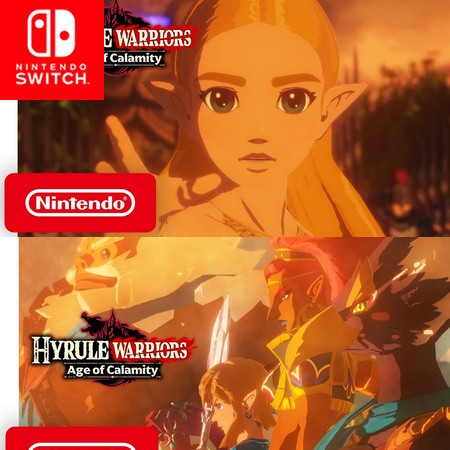 Hyrule Warriors - Age of Calamity - Launch Trailer do Game