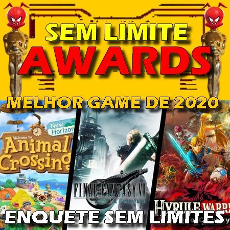 Sem Limite Awards 2020 - Votação do Melhor Game do Ano