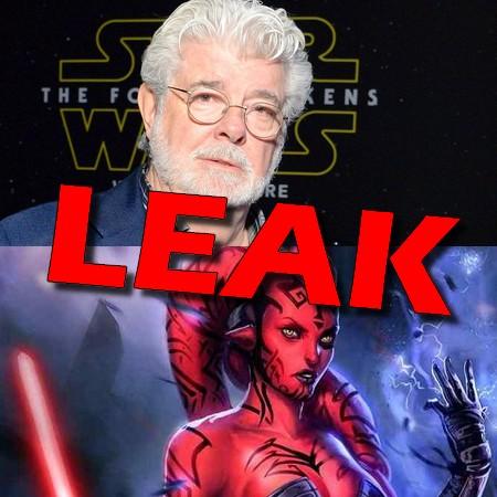 Star Wars - Vaza roteiro original de George Lucas para as Sequels com Darth Maul e Darth Talon