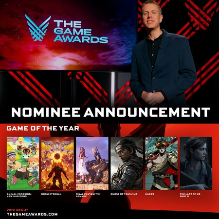 The Game Awards 2020 - Nominees List