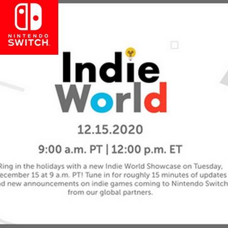 Indie World 12 15 2020 - Assista o evento digital completo ao vivo