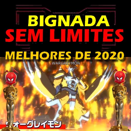 Melhores de 2020 - Metalgreymon digivolve para Wargreymon em Digimon (2020)