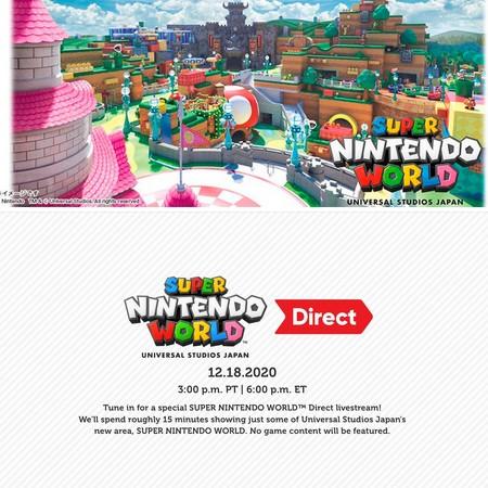 Super Nintendo World Direct - Assista o evento digital