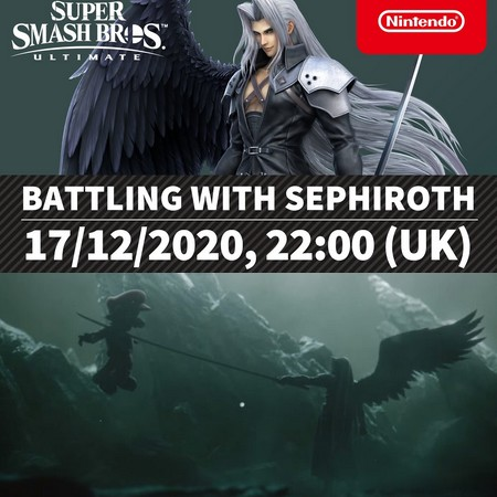 Super Smash Bros Ultimate - Sakurai apresenta Sephiroth como DLC