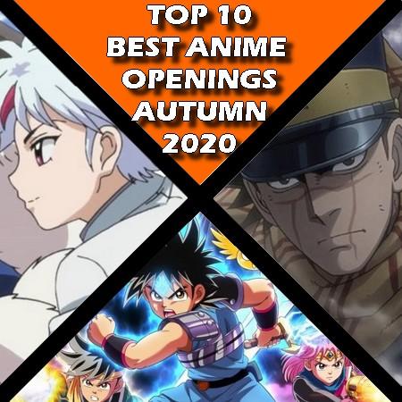 TOP 10 - Melhores Openings de Anime do Outono 2020