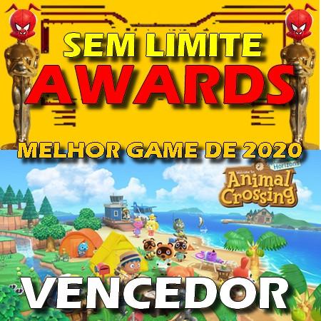 Animal Crossing New Horizons - Melhor Game do Ano - Sem Limite Awards 2020
