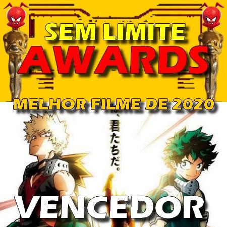 Boku no Hero Academia Heroes Rising - Melhor Filme do Ano - Sem Limite Awards 2020