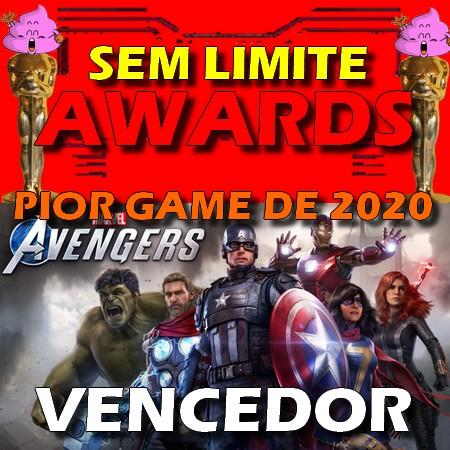 Marvel´s Avengers - Pior Game do Ano - Sem Limite Awards 2020