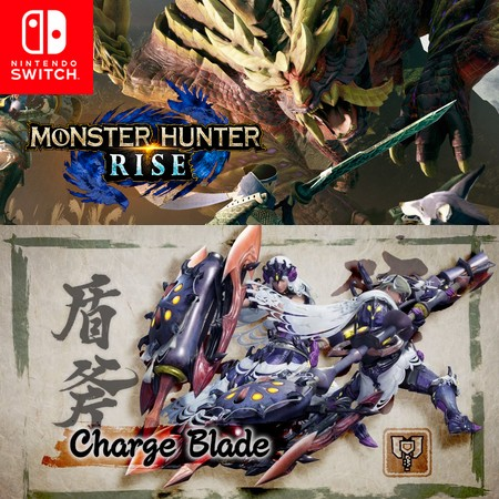 Monster Hunter Rise - Charge Blade - Trailer do Game
