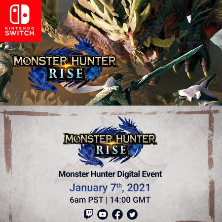 Monster Hunter Rise - Digital Event 07 01 2021