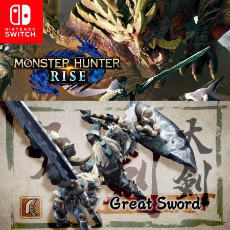 Monster Hunter Rise - Great Sword - Trailer do Game