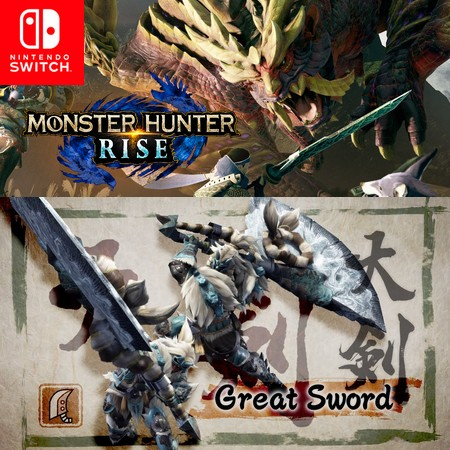 Monster Hunter Rise - Great Sword - Trailer do Game