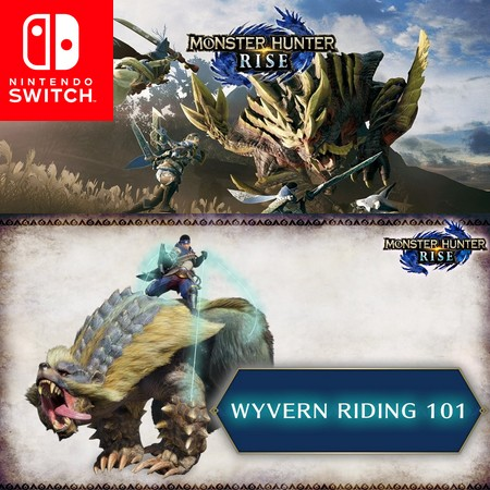 Monster Hunter Rise - Hunting 101 Wyvern Riding