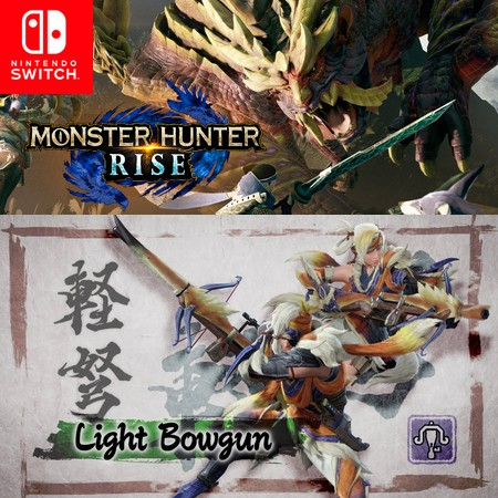 Monster Hunter Rise - Light Bowgun - Trailer do Game