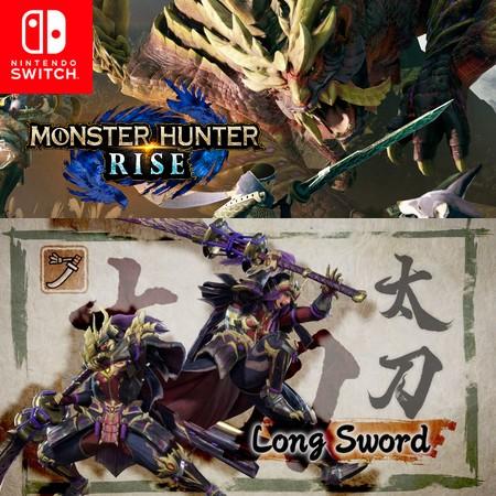Monster Hunter Rise - Long Sword - Trailer do Game