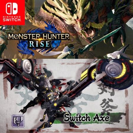 Monster Hunter Rise - Switch Axe - Trailer do Game