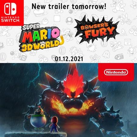 Super Mario 3D World Bowser´s Fury - A Bigger Badder Bowser - Trailer #2 do Game
