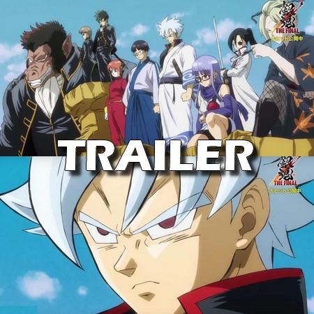 Gintama The Final - Trailer Paródia de Dragon Ball Z