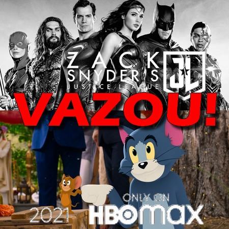 Snydercut Liga da Justiça VAZA antes da hora no HBO Max em Tom e Jerry